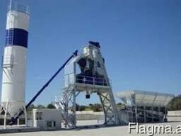 Полу-Мобильный бетонный завод F-90 (90 м3/ч) Швеция