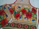 Скатерти ,полотенца в украинском стиле, хлопок - фото 2