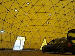 Dome awning structures. - photo 3