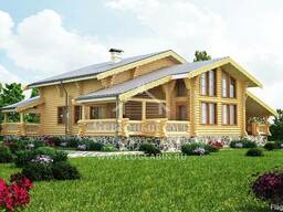 Ecological clean house from Arkhangelsk pine 250-500 sq. m - photo 5