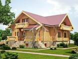 Ecological clean house from Arkhangelsk pine 250-500 sq. m - photo 8