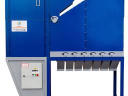 Grain Cleaning Aerodynamic Separator