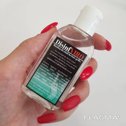 Hand disinfection gel «DisinfViro»