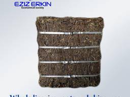 Whole licorice roots and rhizomes