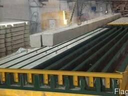 Оборудование для производства бетонных изделий, столбов, свай