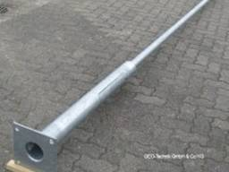 Stützen von Straßenbeleuchtung Metall verzinkt